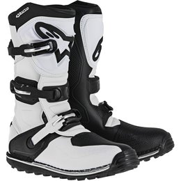 Alpinestars Mens Tech T Offroad Trials Riding Boots White