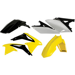 Acerbis Full Plastic Kit For Suzuki RMZ250 2010-2013 Original 13 2171903914 Yellow