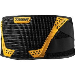 Thor Mens Clinch MX Motocross Motorsports Kidney Protection Belt Black
