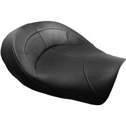 Danny Gray MinimalIST Leather Solo Seat For Harley Dyna Black FA-DGE-0251 Black