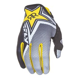 Fly Racing Mens Lite Rockstar Textile Gloves