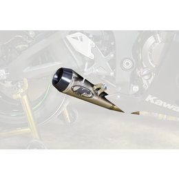 M4 GP Mount Slip-On Exhaust For Kawasaki ZX10R 2016 Titanium KA9906-GP