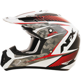 AFX FX17 Gloss Factor Motocross Helmet Red