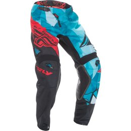 Fly Racing Youth Boys Kinetic Crux Pants Blue