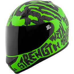 Speed & Strength SS700 Rage With The Machine Full Face Motorcycle Helmet Green