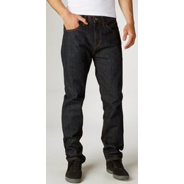 Fox Racing Mens Throttle Tapered Fit Denim Jeans