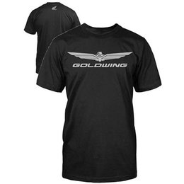 Black Honda Goldwing Corporate T-shirt
