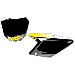 Black Factory Effex Graphic #plate Background Suzuki Rm-z450