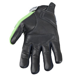 Green Speed & Strength Run With The Bulls Leather Textile Gloves