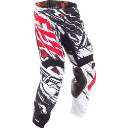 Fly Racing Youth Kinetic Mesh Relapse MX Pants Black