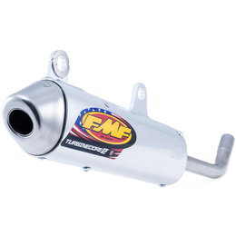 FMF Racing TurbineCore 2 S/A Silencer KTM 2016-2018 50 SX Stainless Steel 025181 Unpainted