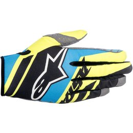 Alpinestars Mens Racer Supermatic Textile Gloves Black