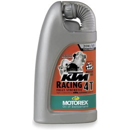 Motorex KTM Racing 4T Full Synthetic Oil For 4-Stroke Engines 20W60 1 Liter