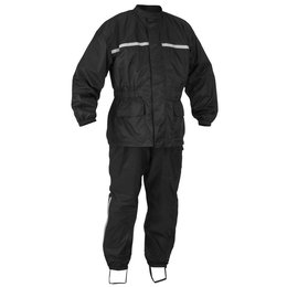 River Road High-N-Dry 2 Piece Rainsuit Black
