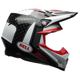 Bell Powersports Moto-9 Flex Vice Snell DOT ECE Approved MX Motocross Helmet Black