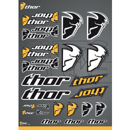 Corpo Thor Sticker Decal Sheet One Size