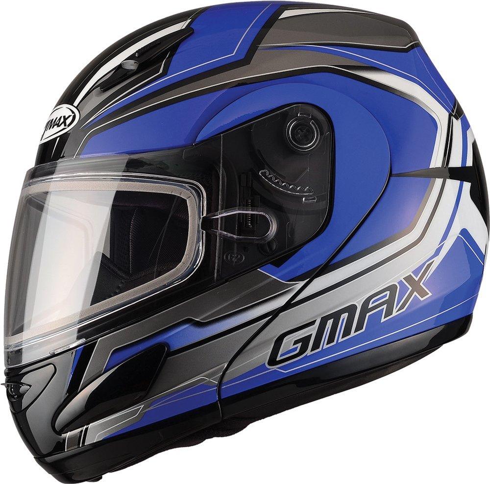 Snowmobile Helmets For Sale >> $174.95 GMax GM44S Glacier Modular Snow Helmet With Dual ...