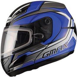 GMax GM44S Glacier Modular Snow Helmet With Dual Pane Shield Blue