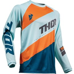 Thor Youth Boys Sector Shear Jersey Blue
