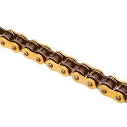 Sunstar 525 Road Triple Guard Sealed Chain 120 Links Gold For Honda Kaw Suz Tri