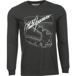 Fly Racing Mens Focus Snow Long Sleeve T-Shirt