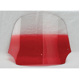 Memphis Shades Batwing Fairing Windshield Ruby 12 Inch