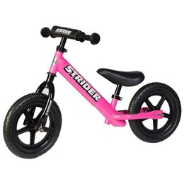 Pink Strider Bikes Girls 12 Sport Balance Bike