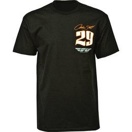Black Fly Racing Mens Andrew Short T-shirt 2015