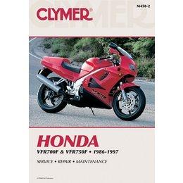 Clymer Repair Manual For Honda VFR700F VFR750F 86-97