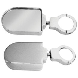 Modquad Side Mirrors Plain Aluminum Can Am Commander