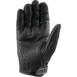 Speed & Strength Womens Backlash Leather Riding Gloves Black