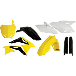 Acerbis Full Plastic Kit For Suzuki RMZ450 2008-2013 Original 2198043914 Yellow