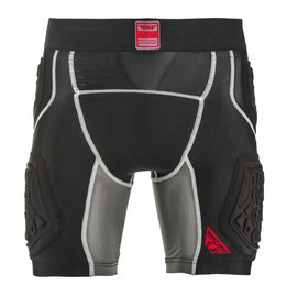 Fly Racing Mens Barricade Compression Shorts Black
