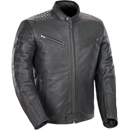 Joe Rocket Mens Vintage Leather Jacket Black