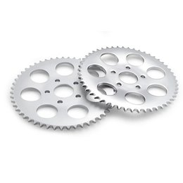 Chrome Bikers Choice 47t Rear Sprocket Flat For Harley 86-92