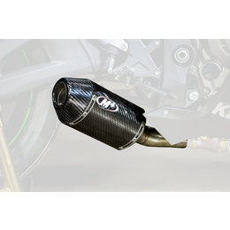 M4 Street Slayer Slip-On Exhaust For Kawasaki ZX10R 2016 Carbon Fiber KA9944