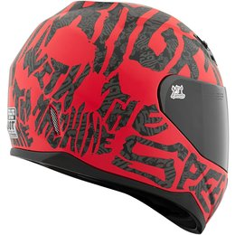 Speed & Strength SS700 Rage With The Machine Full Face Motorcycle Helmet Red
