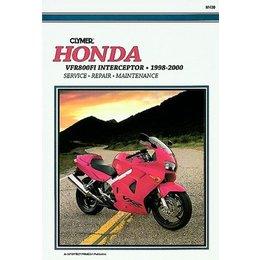 Clymer Repair Manual For Honda VFR800FI Interceptor 98-00