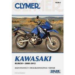 Clymer Repair Manual For Kawasaki KLR650 KLR 650 2008-2012