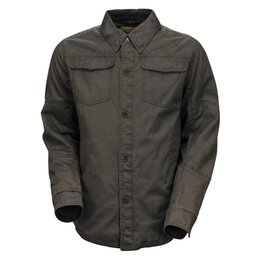 RSD Mens Chandler Water Resistant Overshirt Grey