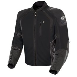 Joe Rocket Mens Tall Phoenix Ion Armored Mesh Textile Jacket Black