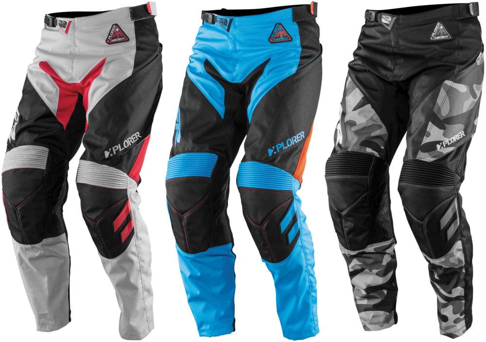 42 Waist//Black//Red//White MSR Xplorer Ascent Pants