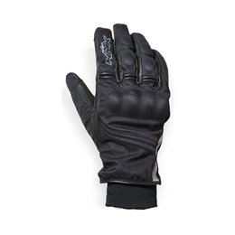 HMK Mens Contraband Waterproof Leather Winter Gloves Black