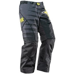 Black Answer Mens Mode Rockstar Over The Boot Convertible Pants 2015 Us 28
