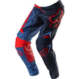 Blue, Red Fox Racing Mens Limited Edition 360 Given Pants Us 28 Blue Red