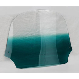 Memphis Shades Batwing Fairing Windshield Teal 12 Inch