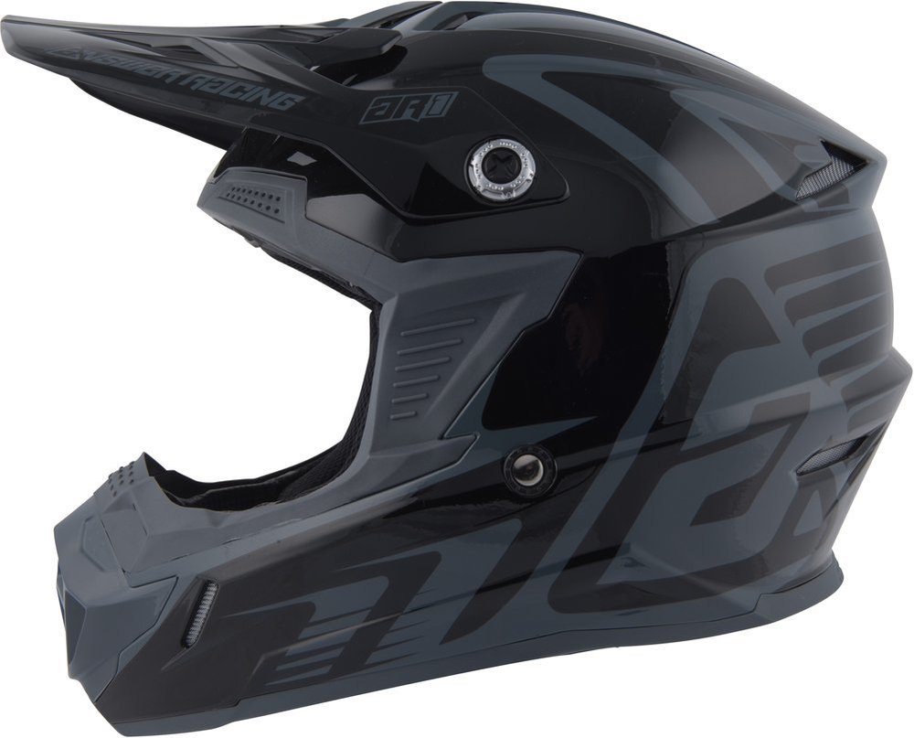 X-Large Acid//Grey Answer Racing AR-1 Mens Off-Road Motorcycle Helmets