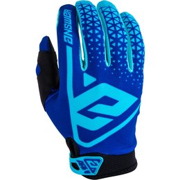 Answer Racing Youth Boys AR-1 AR1 Gloves Blue