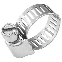 Stainless Steel Bikers Choice Mini Clamp 10 Pack 7 32 To 5 8