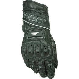 Black Fly Racing Mens Fl-2 Gauntlet Leather Gloves 2015
